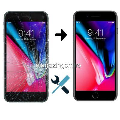 Schimbare Display iPhone 8 Negru (Manopera + Ecran)