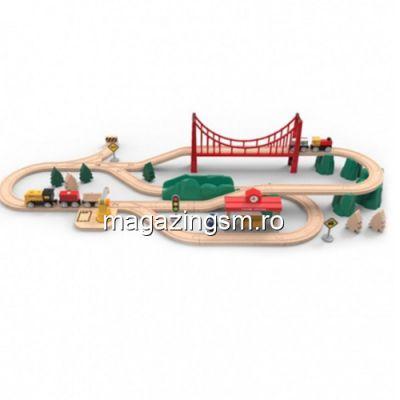 Set Trenulet Electric Xiaomi MI Toy Train Set Alb