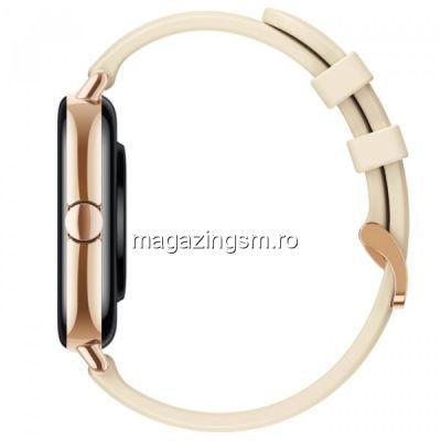 Smartwatch Amazfit GTS 2, Bluetooth 5.0, Waterproof 5 ATM, senzor SpO2, Gold