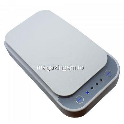 Sterilizator UV pentru dezinfectat telefonul mobil