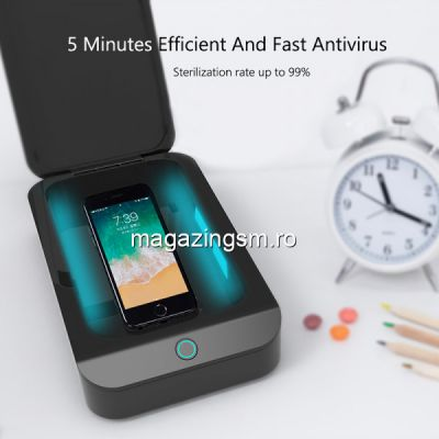 Sterilizator UV pentru Masca / Telefon / Ceas