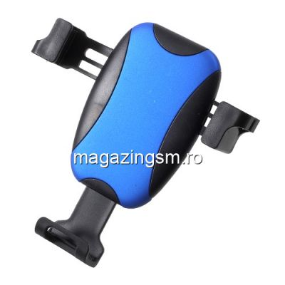 Suport Auto Universal iPhone Samsung Huawei Rotire 360 Grade cu Suport Ochelari Albastru