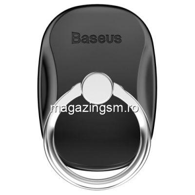 Suport Telefon Baseus Finger Grip Inel Negru