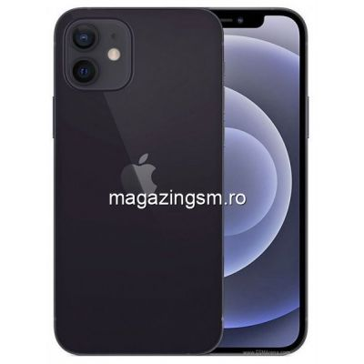 Telefon Mobil Apple iPhone 12 128GB Flash 5G iOS Negru