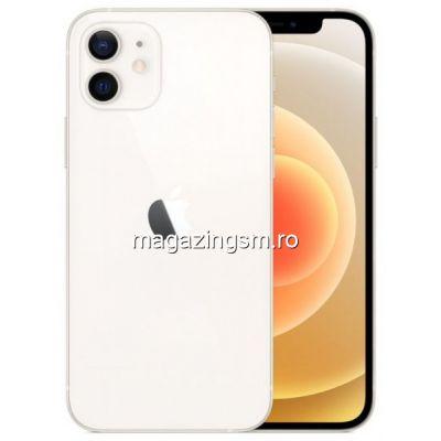 Telefon Mobil Apple iPhone 12 256GB Flash 5G iOS Alb
