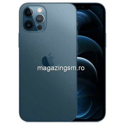 Telefon Mobil Apple iPhone 12 PRO 128GB Flash 5G iOS Albastru