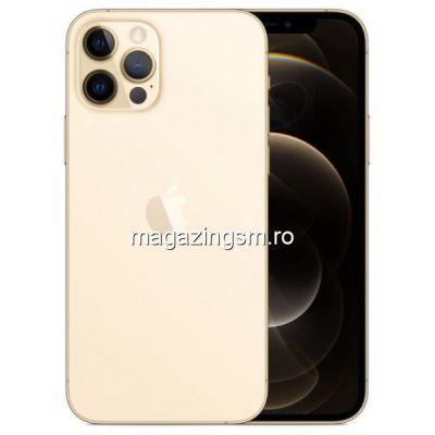 Telefon Mobil Apple iPhone 12 PRO 128GB Flash 5G iOS Gold