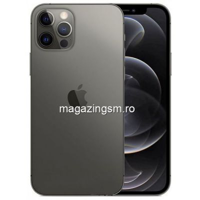 Telefon Mobil Apple iPhone 12 PRO 128GB Flash 5G iOS Negru
