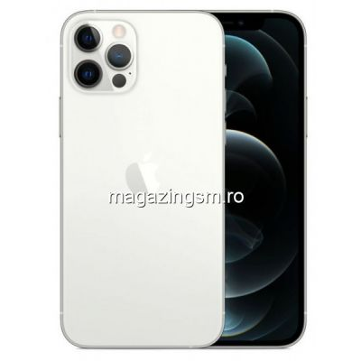 Telefon Mobil Apple iPhone 12 PRO 256GB Flash 5G iOS Argintiu