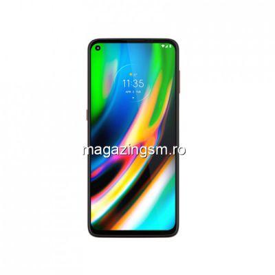Telefon Mobil Motorola Moto G9 Plus, Dual Sim, Albastru