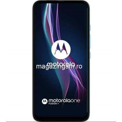 Telefon Mobil  MOTOROLA One Fusion+, 128GB, 6GB RAM, Dual SIM, Albastru