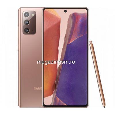 Telefon mobil Samsung Galaxy Note 20 Dual SIM 256GB 8GB RAM 4G Mystic Bronze