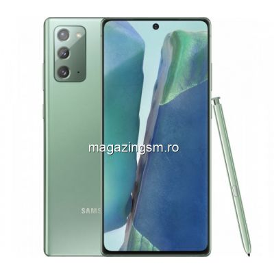 Telefon mobil Samsung Galaxy Note 20 Dual SIM 256GB 8GB RAM 4G Mystic Green