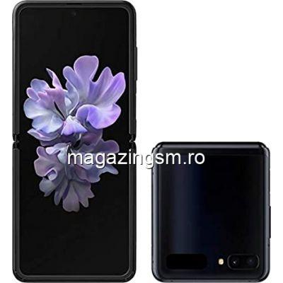 Telefon mobil Samsung Galaxy Z Flip, Dual SIM, 256GB, 8GB RAM, Mirror Black