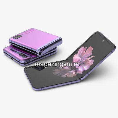 Telefon mobil Samsung Galaxy Z Flip Dual SIM 256GB 8GB RAM Mirror Purple