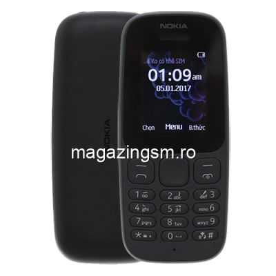 Telefon Nokia N105 Dual Sim Negru