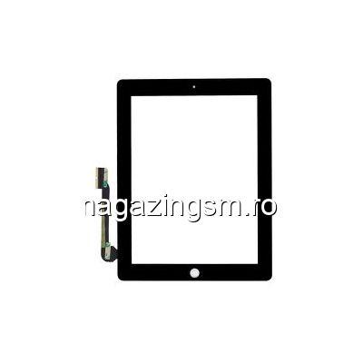 Geam Cu Touchscreen iPad 3 Wi-Fi Negru