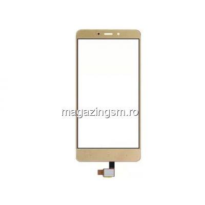 Touchscreen Xiaomi Redmi Note 4 Auriu