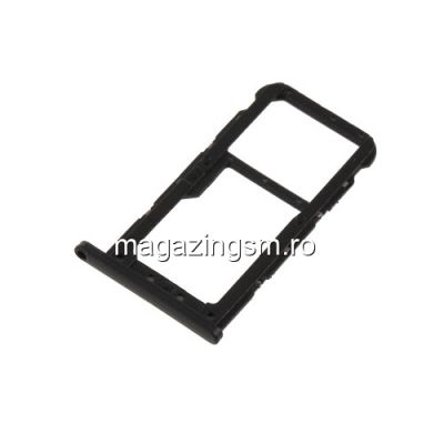 Usita Sim si Card Micro SD Huawei P20 Lite Originala Neagra