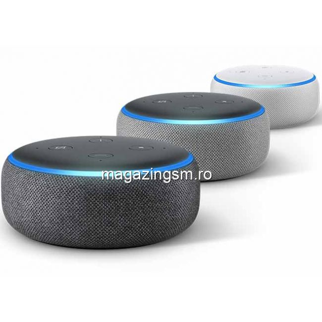 Boxa Amazon Echo Dot 3, Alexa, Negru