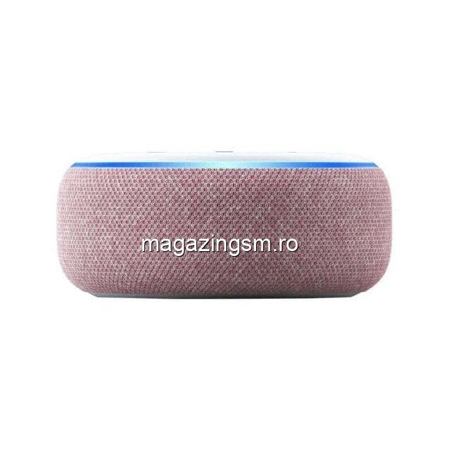 Boxa Amazon Echo Dot 3, Alexa, Rosu