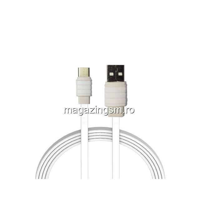 Cablu Date Si Incarcare Type C Alb