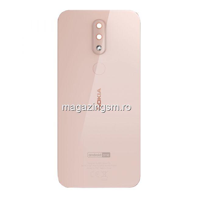 Capac Baterie Nokia 4,2 Original Roz Auriu