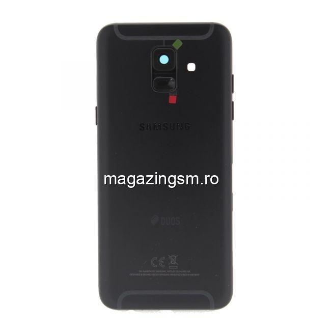 Carcasa Completa Spate Samsung Galaxy A6 A600 2018 Originala Neagra