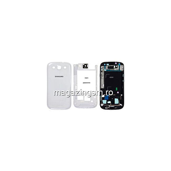88b8a7f4746 Carcasa Samsung Galaxy S3 i9300 Originala Alba Pret