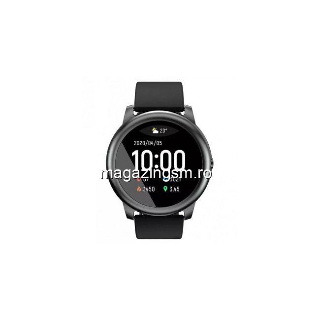 Ceas Smartwatch Haylou, Solar LS05, 12 moduri sport, Rezistent la apa, Ecran TFT HD, Negru