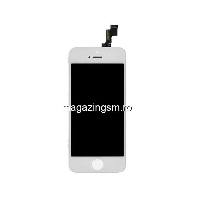 Display iPhone 5s Cu Touchscreen Alb