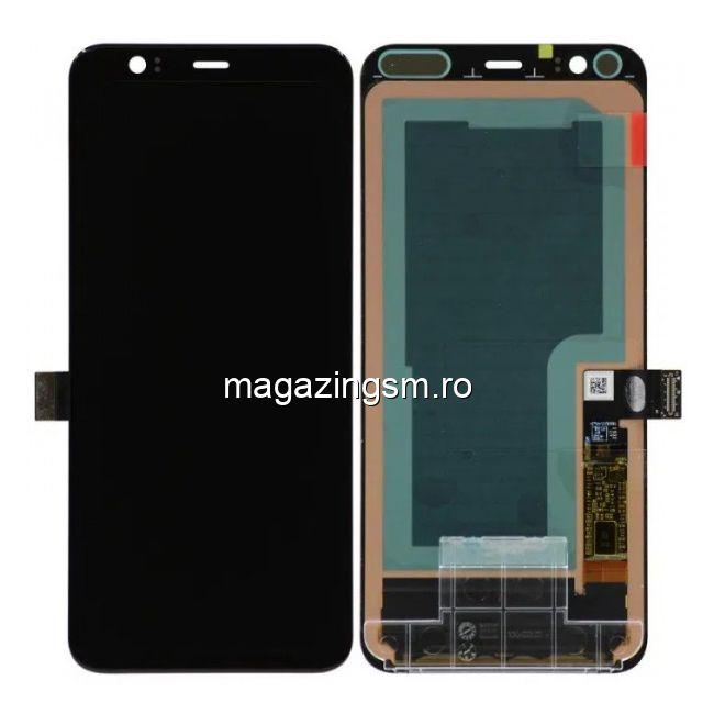Display Cu Touchscreen Google Pixel 4 Negru