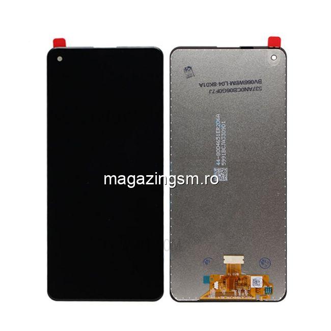 Display Cu Touchscreen Samsung Galaxy A21S Negru