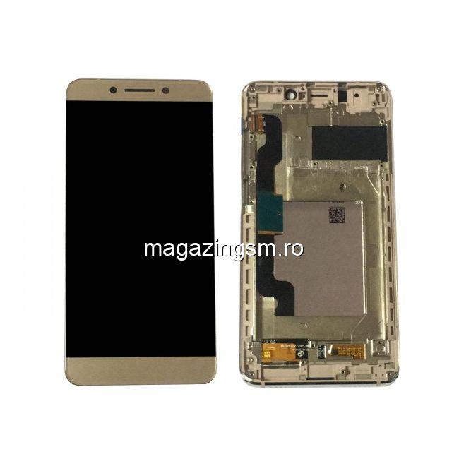 Display Cu Touchscreen Si Rama Allview P8 Pro Original Auriu