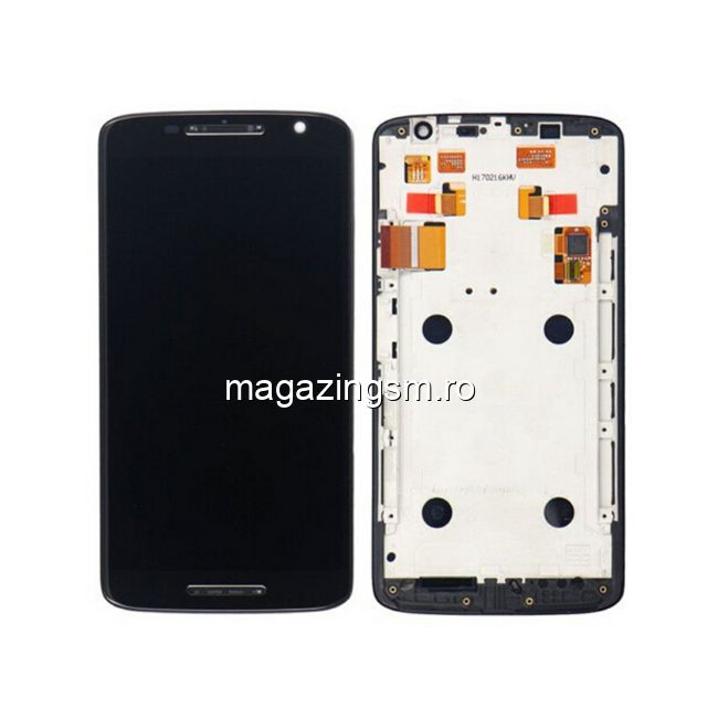 Display Cu Touchscreen Si Rama Motorola Moto X Play XT1562 Original Negru