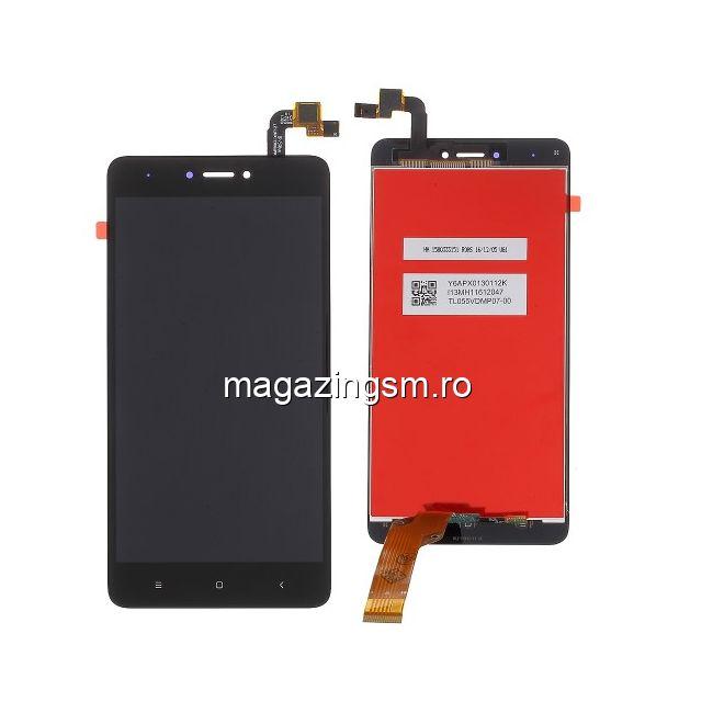 Display Cu Touchscreen Xiaomi Redmi Note 4X Negru
