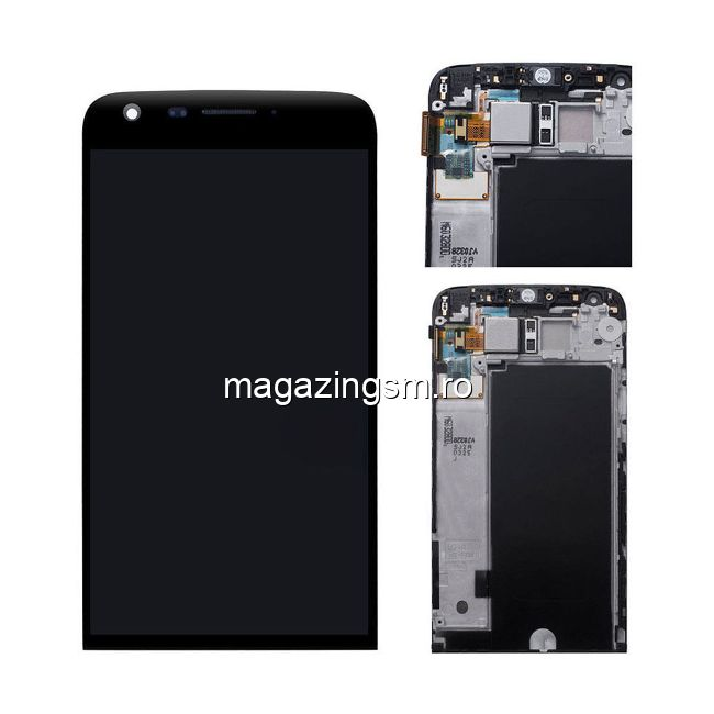 Display LG G5 Cu Rama Negru