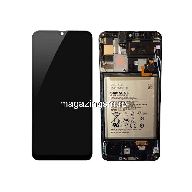 Display Samsung Galaxy A50 A505 / A30 A305 / A50s A507 Cu Rama si Baterie Original