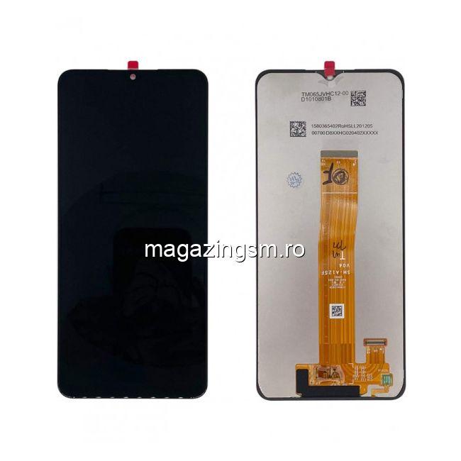 Display Samsung Galaxy A12 A125 Compatibil Negru