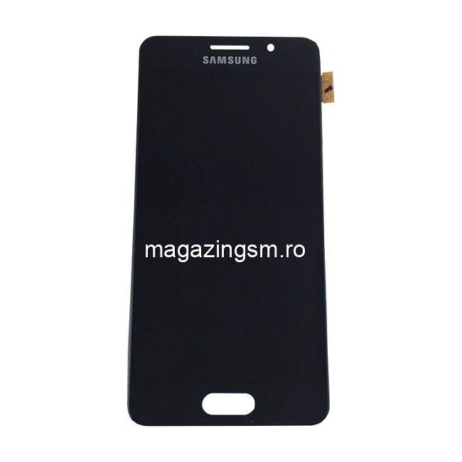 Display Samsung Galaxy A3 A310F Complet Cu RAMA Original Negru SWAP