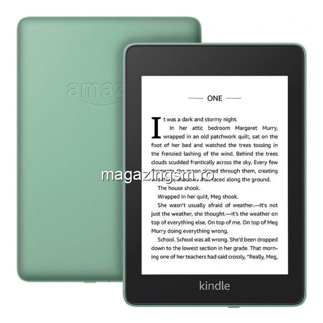 eBook reader Kindle Paperwhite 2018, 300 ppi, rezistent la apa, 32GB, verde