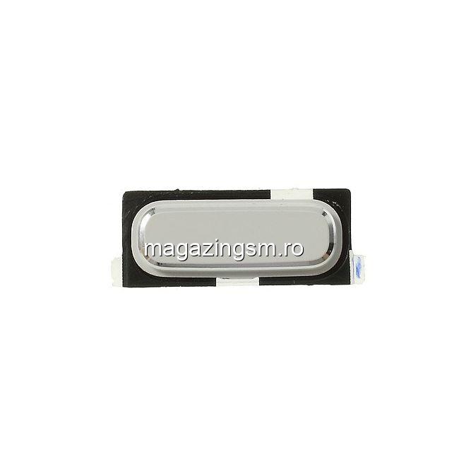 Home Buton Samsung I9190 Galaxy S IV mini Alb Original