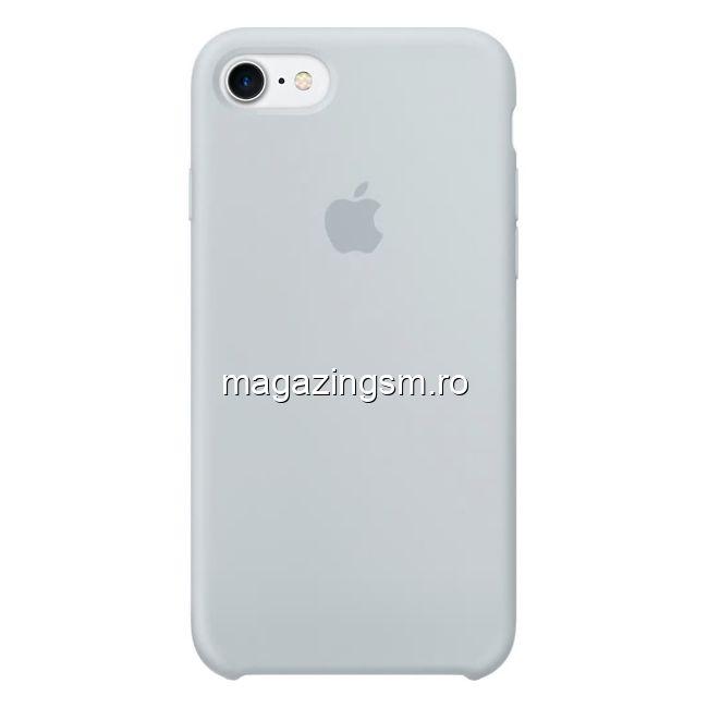 Husa iPhone 7 / 8 Silicon Mist Blue
