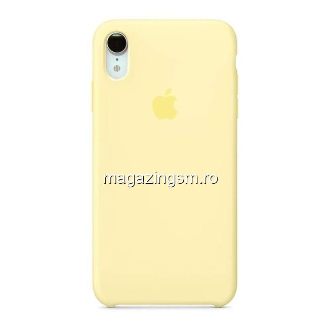 Husa iPhone XR Silicon Mellow