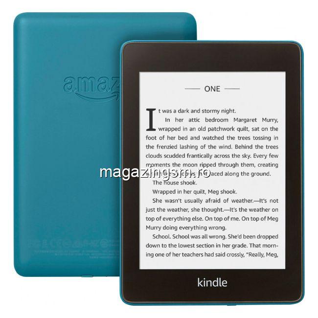 Resigilat eBook reader Kindle Paperwhite 2018, 300 ppi, rezistent la apa, 32GB, albastru