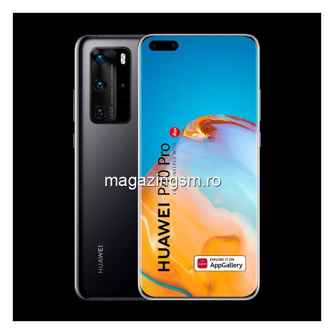 RESIGILAT Telefon mobil Huawei P40 Pro, Dual SIM, 256GB, 8GB RAM, 5G, Black