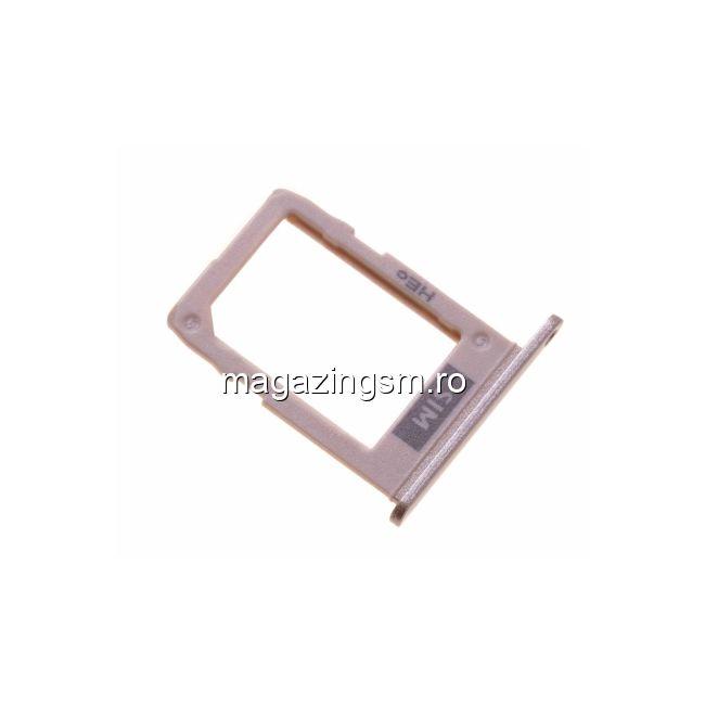 Suport Sim Samsung Galaxy J6 J600F Original Auriu