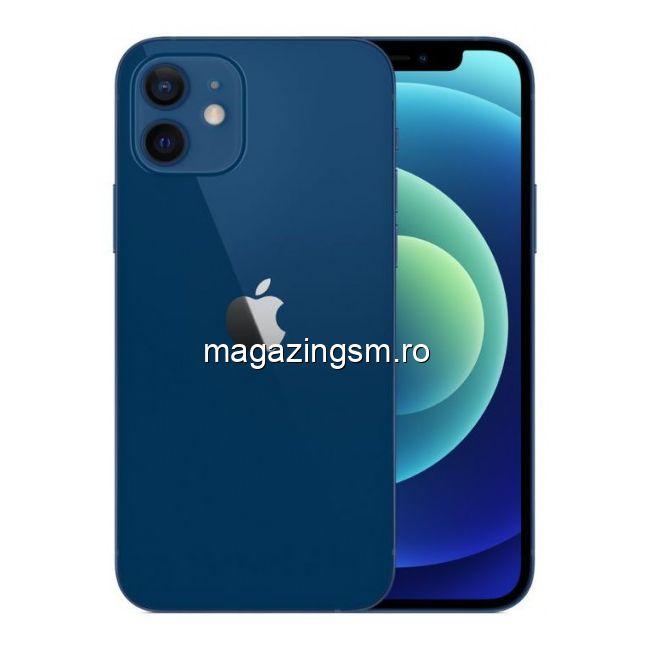 Telefon Mobil Apple iPhone 12 128GB Flash 5G iOS Albastru