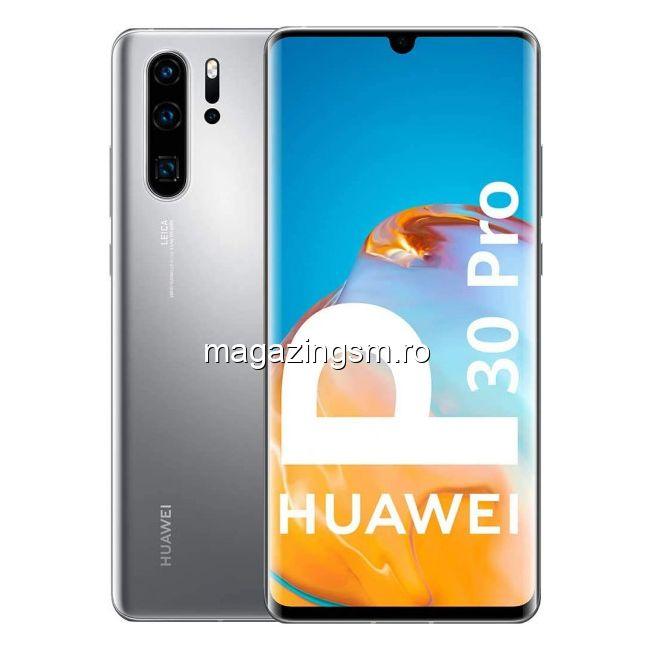 Telefon mobil Huawei P30 Pro New Edition Dual SIM 256GB 8GB RAM 4G Silver Frost