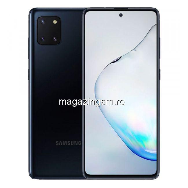 Telefon mobil Samsung Galaxy Note 10 LITE Dual SIM 128GB 6GB RAM 4G Black